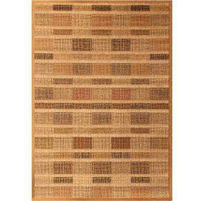 Essentials Freemont Brown 5 ft. 3 in. x 7 ft. 6 in. Area Rug