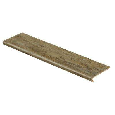 Patina 94 in. L x 12-1/8 in. W x 1-11/16 in. T Vinyl Overlay to Cover Stairs 1 in. Thick