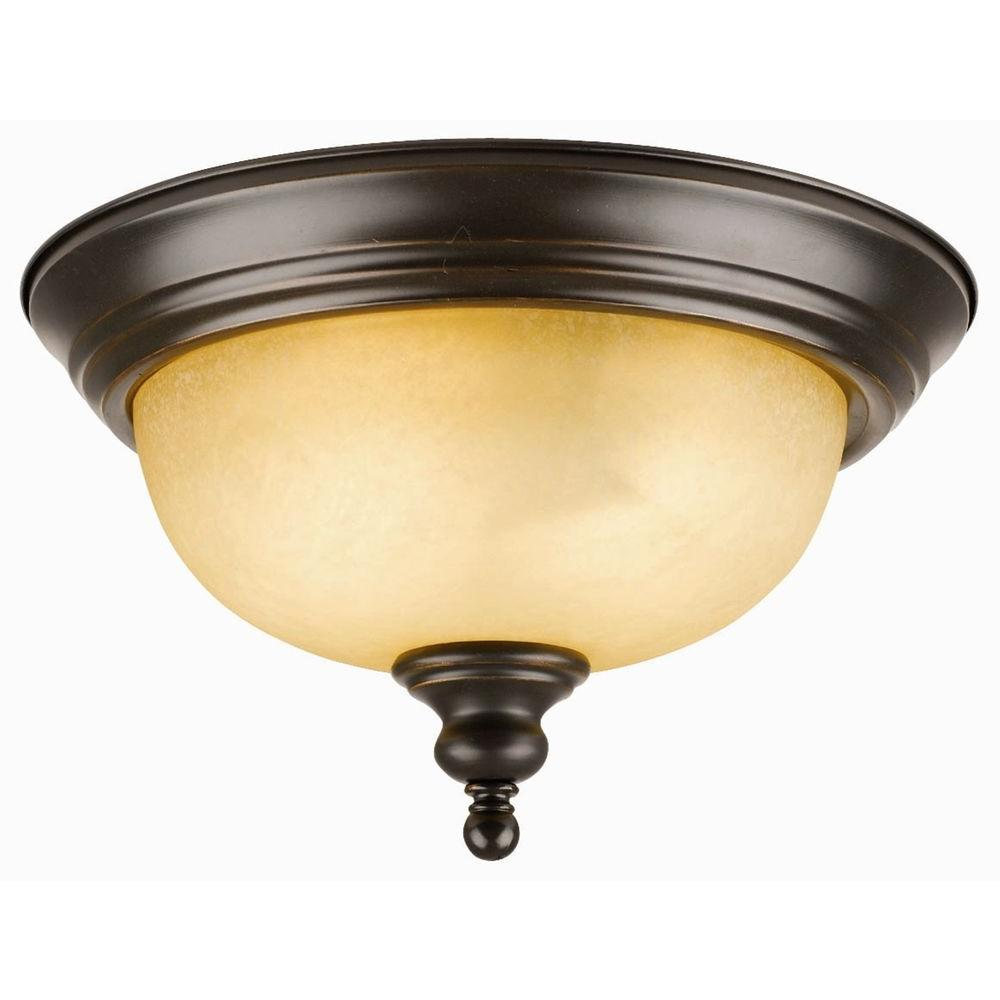 Design House Bristol 2-Light Oil Rubbed Bronze Ceiling