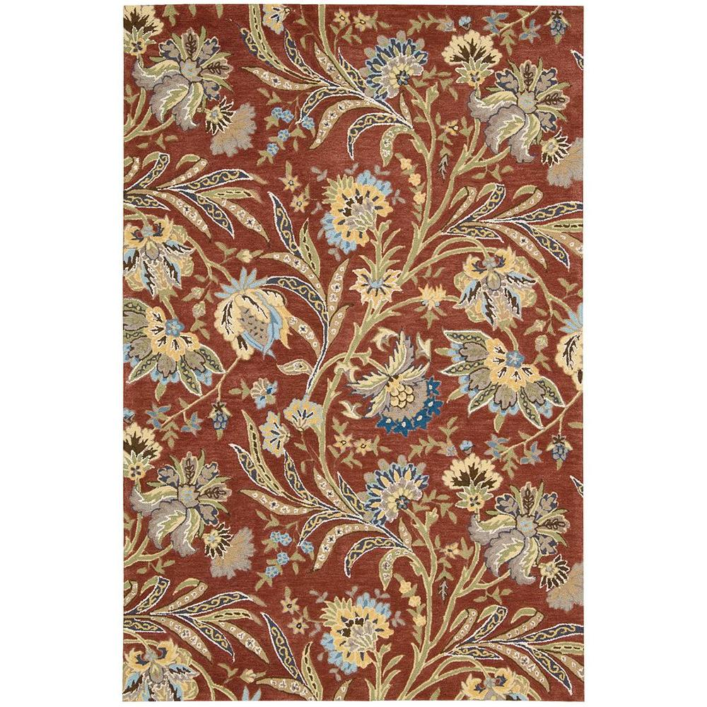 Nourison Gatsby Multicolor 5 ft. x 7 ft. 6 in. Area Rug