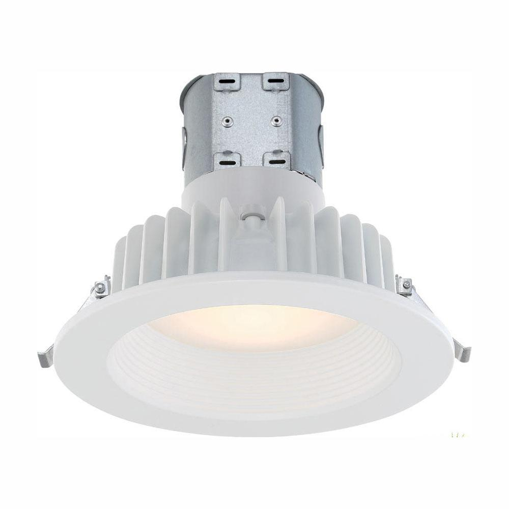 EnviroLite Easy Up 6 in. White Integrated LED Recessed Kit was $18.49 now $14.42 (22.0% off)