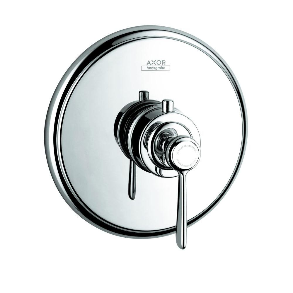 hansgrohe axor montreux 1 handle valve trim kit in chrome valve not included 16824001 the. Black Bedroom Furniture Sets. Home Design Ideas