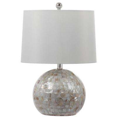 White Shell Table Lamp