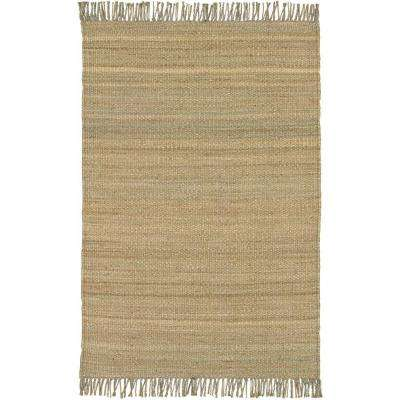 Saket Natural Tan 2 ft. x 3 ft. Indoor Area Rug