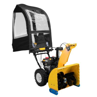 Universal Snow Cab Attachment for Most Two and Three Stage Snow Blowers