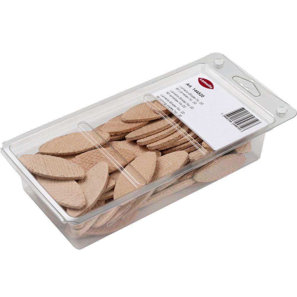 #0 Beech Wood Biscuits (80 per Box)