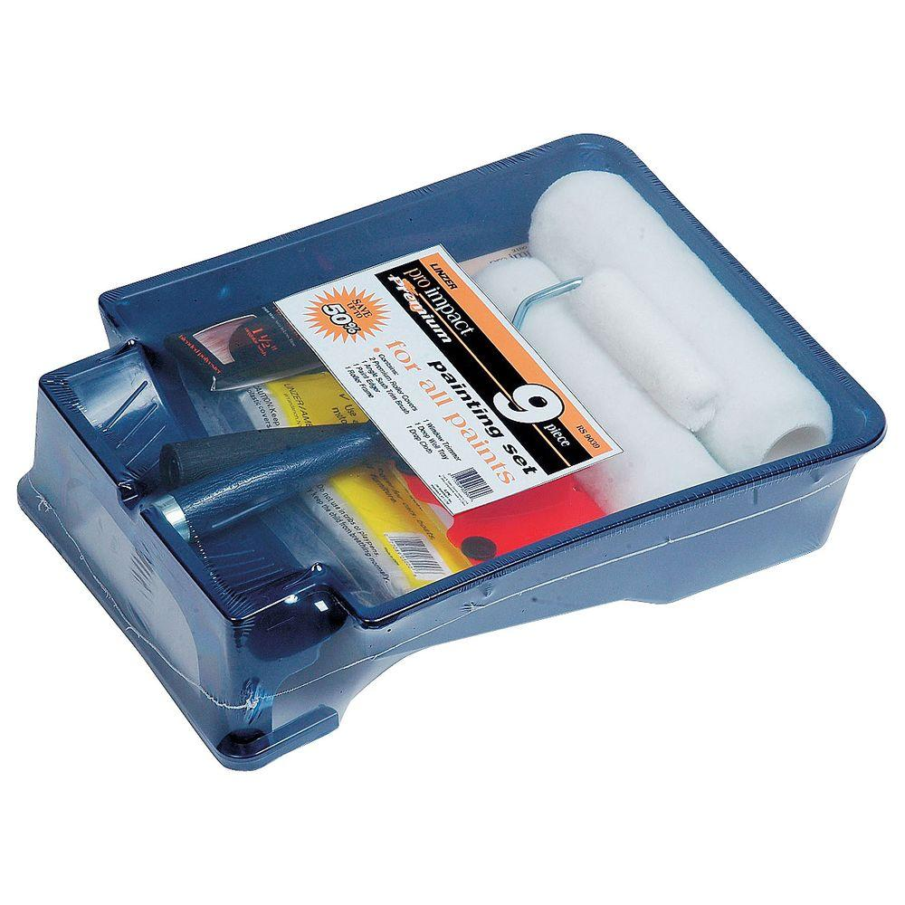 Linzer 9-Piece Professional All Paints Paint Tray Set
