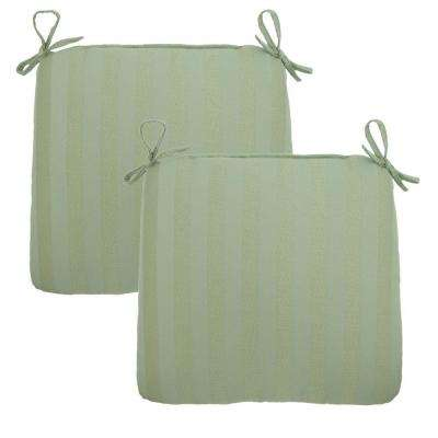 Bayou Solid Outdoor Chair Cushion (2-Pack)