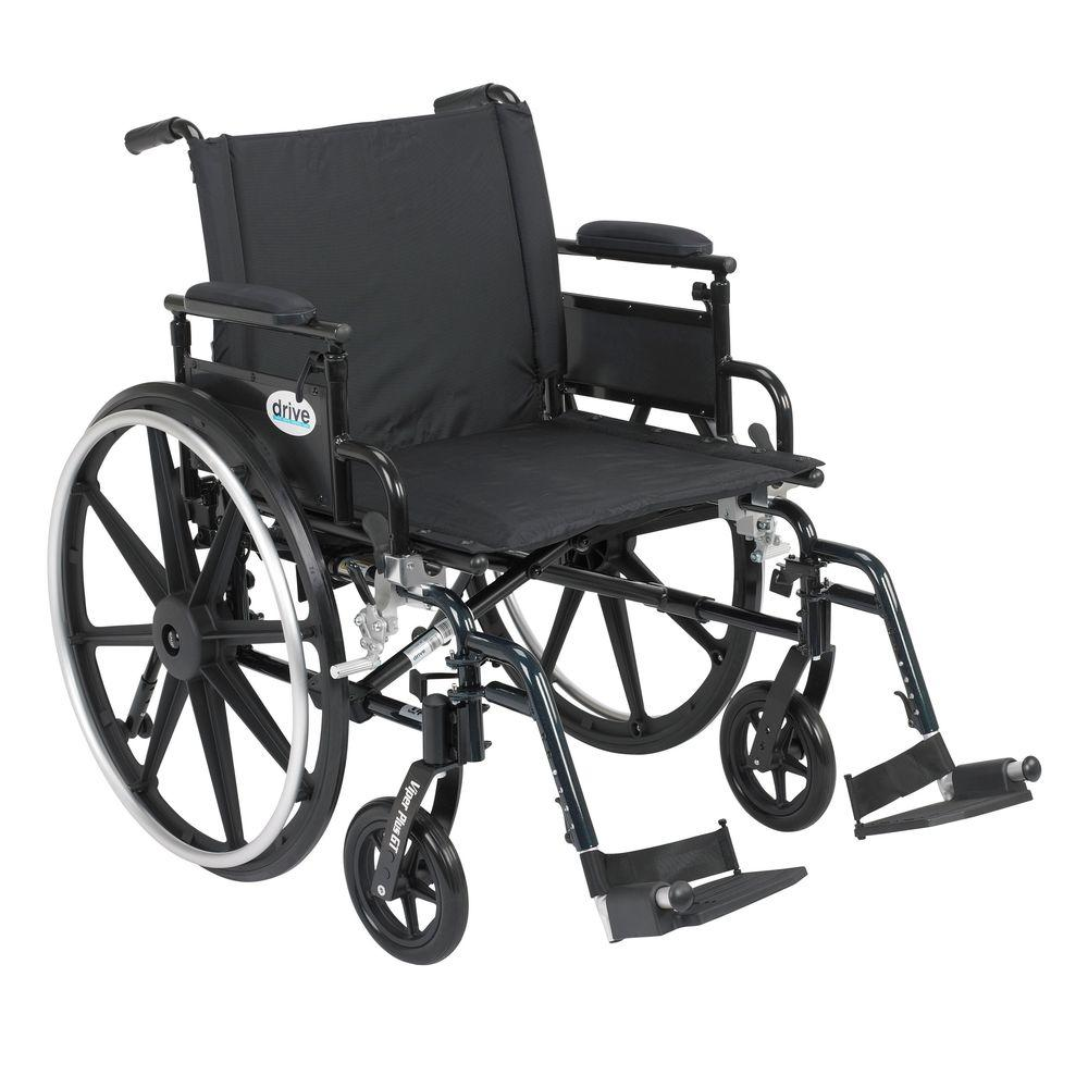 Viper Plus GT Wheelchair with Removable Flip Back Adjustable Desk Arm
