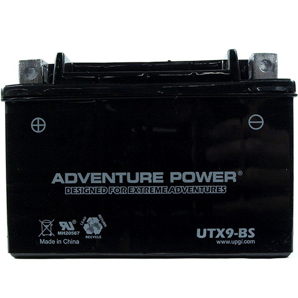 UPG Dry Charge AGM 12-Volt 8 Ah Capacity D Terminal Battery