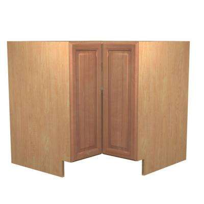 Ancona Ready to Assemble 36 x 34.5 x 24 in. Easy Reach Base Corner Cabinet with 2 Doors in Cumin