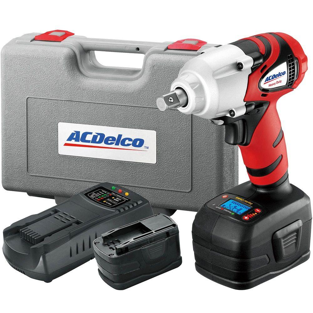 ACDelco 18-Volt 1/2 in. Impact Wrench with Digital Clutch
