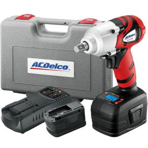 Click here to buy ACDelco 18-Volt 1/2 inch Impact Wrench with Digital Clutch by ACDelco.