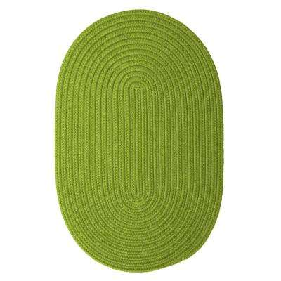 Trends Limelight 2 ft. x 3 ft. Braided Oval Area Rug
