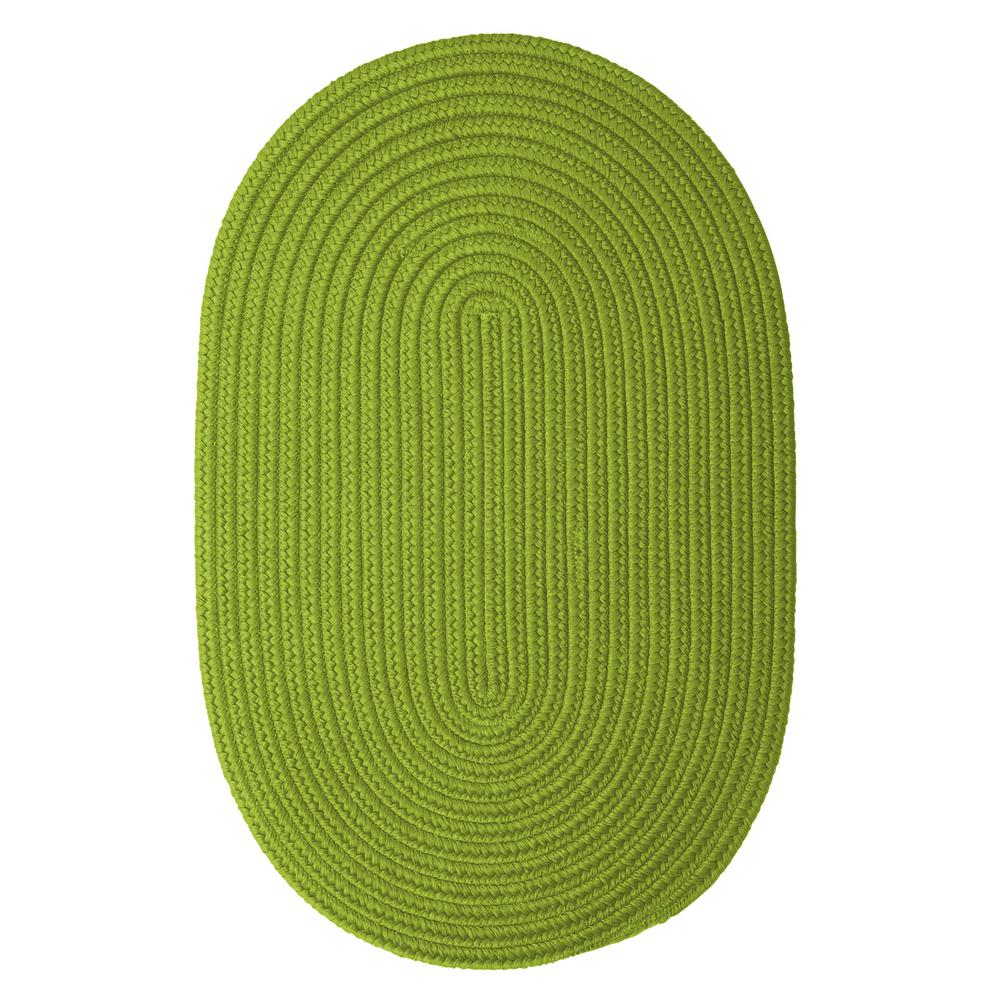 Trends Limelight 3 ft. x 5 ft. Braided Oval Area Rug
