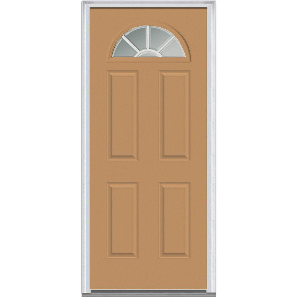Mmi Door 36 In X 80 In Internal Grilles Right Hand Inswing 14