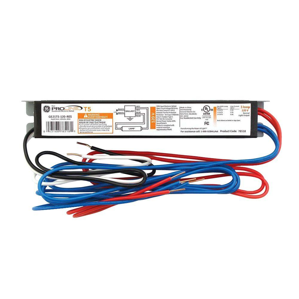 ge replacement ballasts ge21t5 120 res 64_1000 ge 2 ft and 3 ft 1 lamp t5 120 volt residential electronic lithonia lighting wiring diagram at readyjetset.co