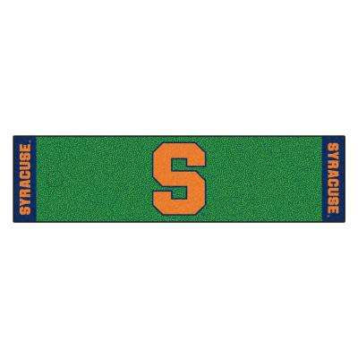 NCAA Syracuse University 1 ft. 6 in. x 6 ft. Indoor 1-Hole Golf Practice Putting Green