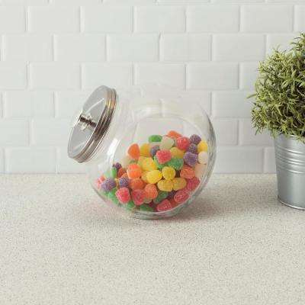 91 oz. Large Glass Candy Jar