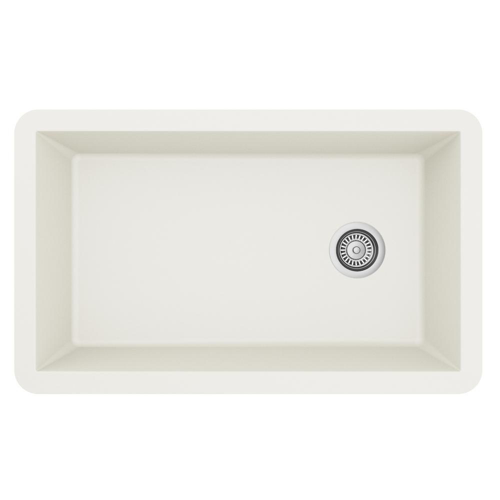 karran undermount quartz composite 32 in single bowl kitchen sink rh homedepot com  best quartz composite kitchen sinks