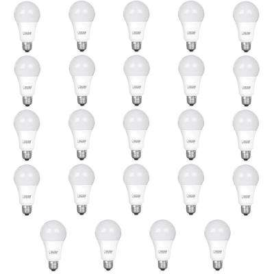 100-Watt Equivalent A21 Dimmable CEC Title 24 Compliant LED ENERGY STAR 90+ CRI Light Bulb, Bright White (24-Pack)