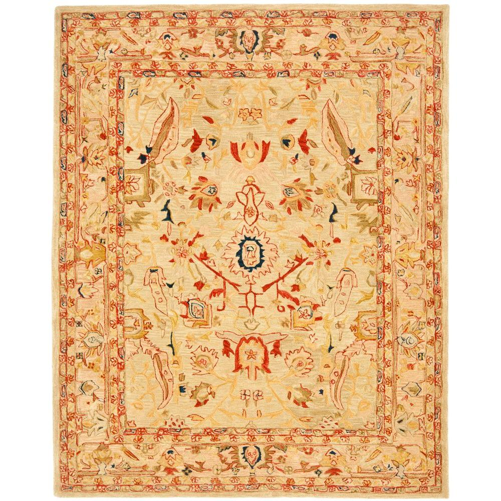 Safavieh Anatolia Ivory/Beige 9 ft. 6 in. x 13 ft. 6 in. Area Rug