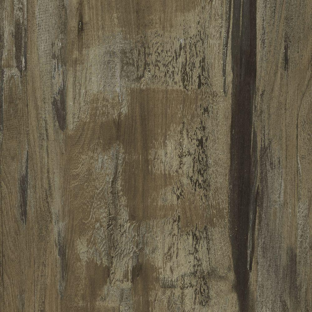 TrafficMASTER Take Home Sample - Allure Ultra Wide Narragansett Pine Van Gogh Resilient Vinyl Plank Flooring - 4 in. x 4 in.