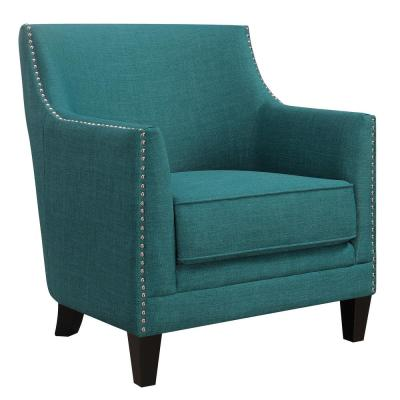 Deena Teal Accent Chair