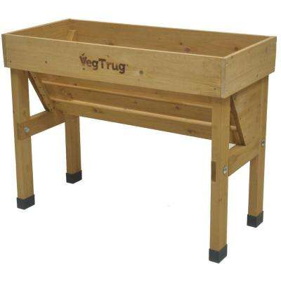 41 in. VegTrug Wallhugger Small - Natural FSC 100%