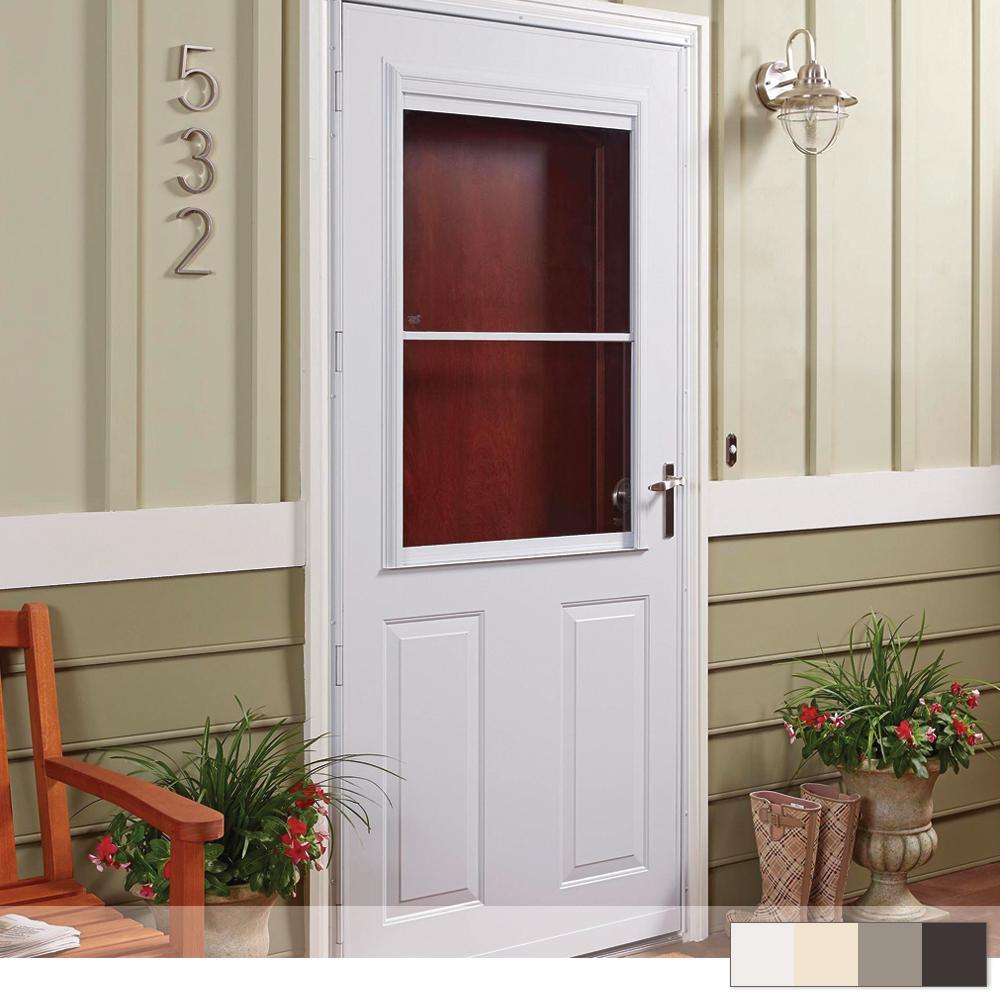 300 Series 1/2 View Self-Storing Storm Door