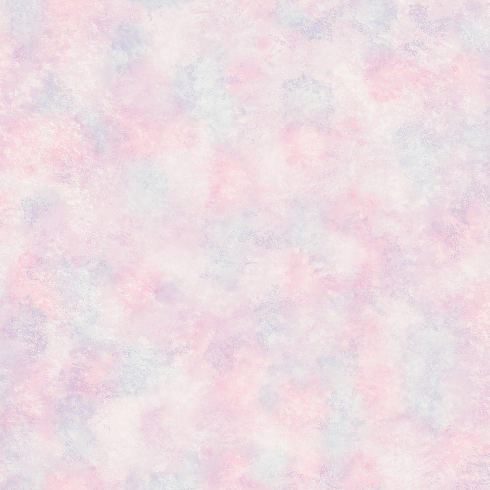 Kids World Pink Sponge Paint Effect Wallpaper Sample
