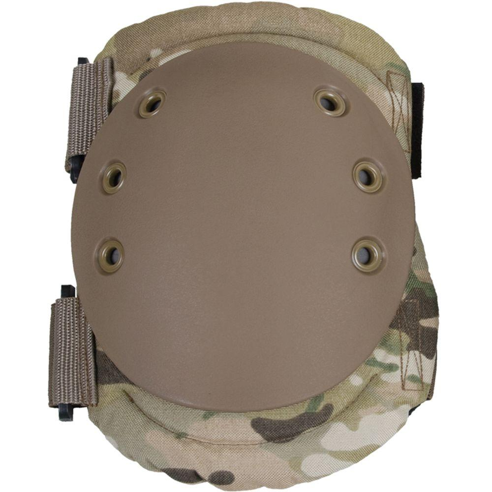 Damascus Imperial Hard Shell Cap Knee Pads - Multi-Cam Camo-DISCONTINUED