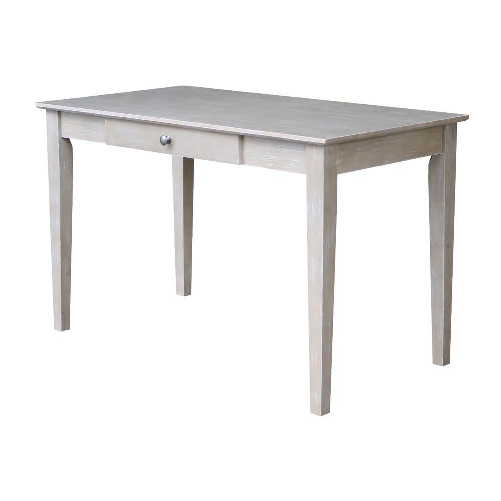 International Concepts Unfinished Desk Of 48 The Home Depot