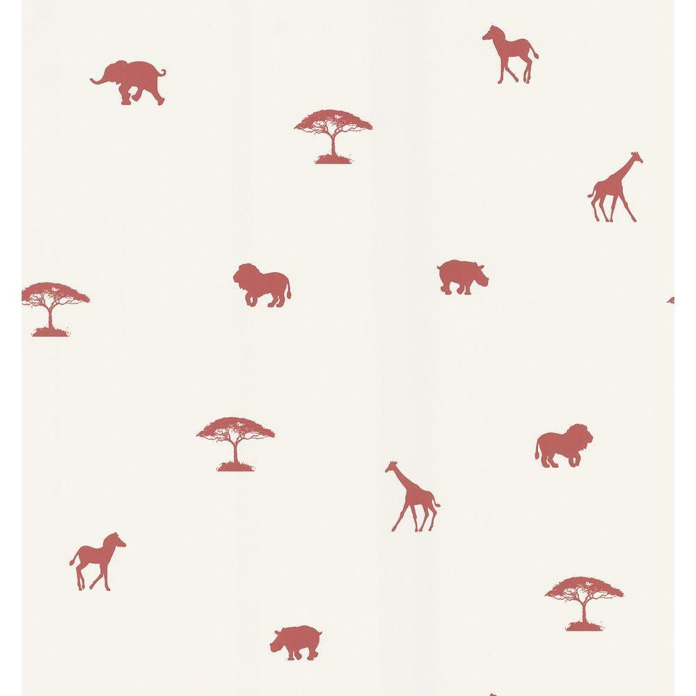 National Geographic Red Animal Spot Wallpaper Sample