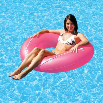 47 in. Neon Frost Swimming Pool Float Tube