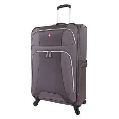 Monte Leone 29 in. Grey Spinner Suitcase
