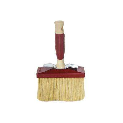 6 in. x 2 in. Ceiling Brush with White Bristle