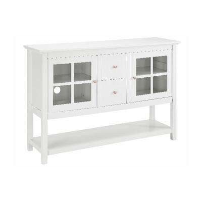 White Buffet with Storage