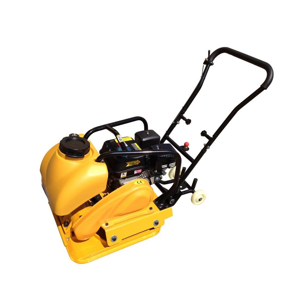 Powerland 6.5 HP Gas Vibratory Plate Compactor with Water Tank