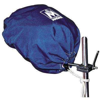 Marine Kettle Grill Original Size Cover and Tote Bag, Color: Pacific Blue