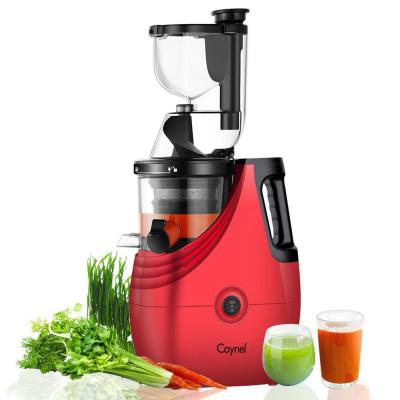 Slow Masticating Juice Extractor,Cold Press Juicer Machine red