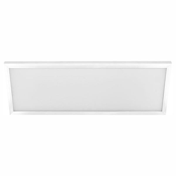 1 ft. x 2 ft. 23-Watt 2000 Lumens Dimmable White Integrated LED Edge-Lit Flat Panel Flush Mount Light Color Changing CCT