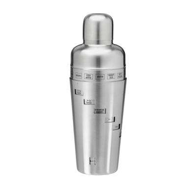 32 oz. Cocktail Shaker in Brushed Stainless Steel