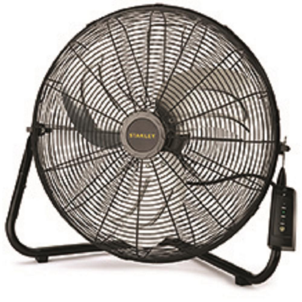 Stanley 20 In. High Velocity Floor Fan With Remote Control-655650