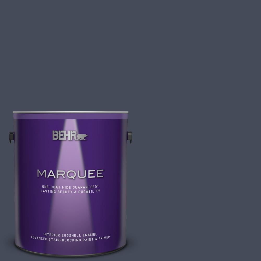 Behr marquee 1 gal mq5 10 secret society one coat hide - Best one coat coverage interior paint ...