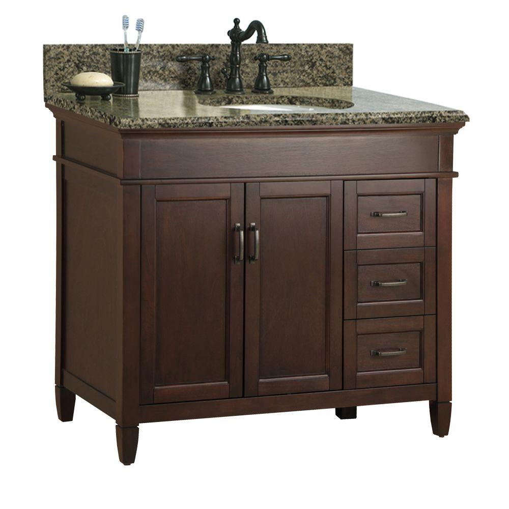 Home Decorators Collection Ashburn 37 In W X 22 D Bath Vanity Cabinet