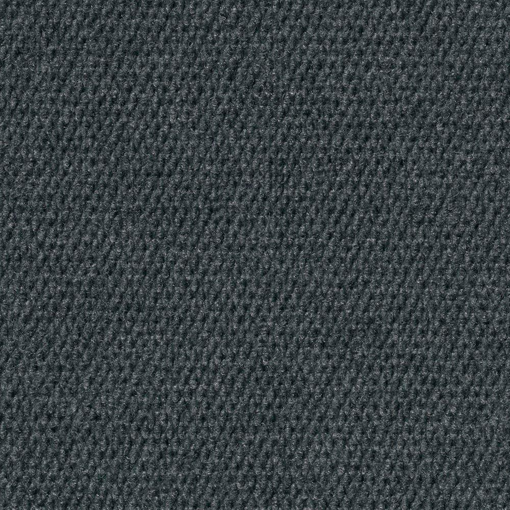 Foss Premium Self-Stick Hobnail Gunmetal Texture 18 in. x 18 in. Indoor/Outdoor Carpet Tile (16 Tiles / case)