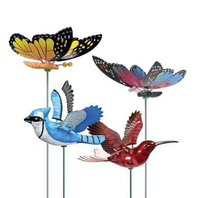 Small Windy-Wings Garden Stake Set