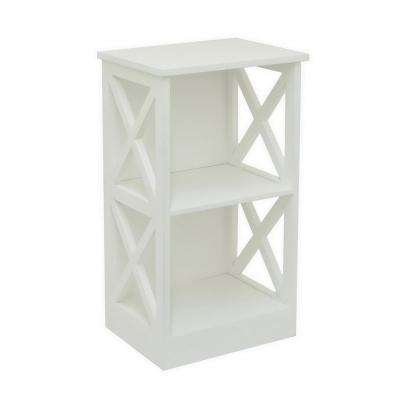 15.75 in. x 11.75 in. Storage Rack-White in White