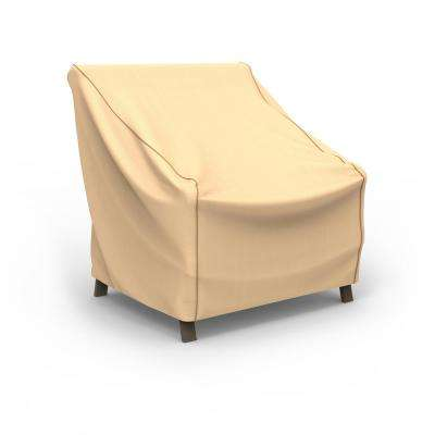 NeverWet Savanna Medium Tan Patio Chair Cover